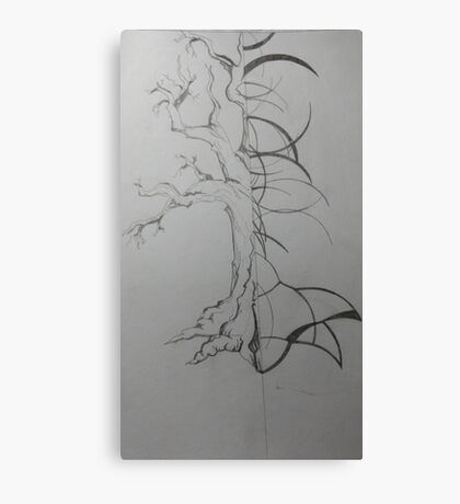 Tree difference Canvas Print