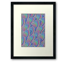 Flower Hologram Framed Print