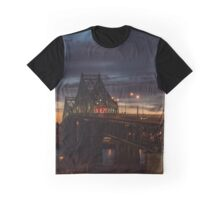 Pont Jacques-Cartier Graphic T-Shirt