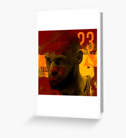 LeBron James - Smile Design 2016 Greeting Card