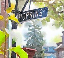 Hopkins Street, Providence RI Sticker
