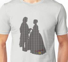 Outlander Wedding Silhouettes Unisex T-Shirt