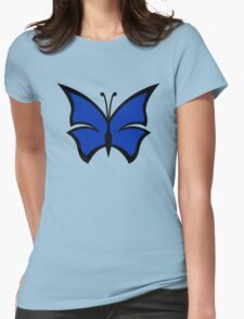The Venture Brothers - Blue Morpho Logo Womens Fitted T-Shirt