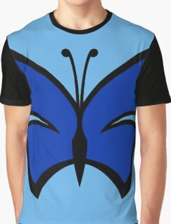 The Venture Brothers - Blue Morpho Logo Graphic T-Shirt