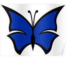 The Venture Brothers - Blue Morpho Logo Poster