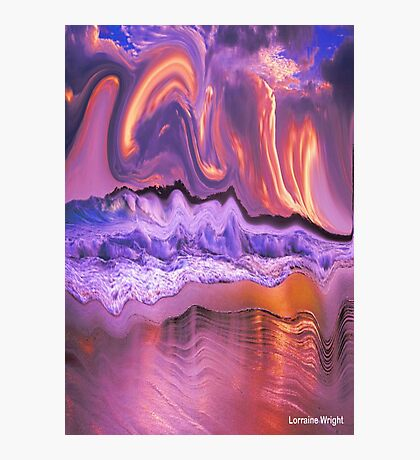 WAVES OF GOODNESS COVERS YOU Photographic Print