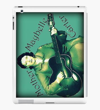 Maybelle Carter - Queen of Country Music iPad Case/Skin