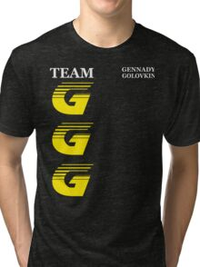 Team GGG Tri-blend T-Shirt