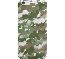 Watercolor Camouflage pattern iPhone Case/Skin