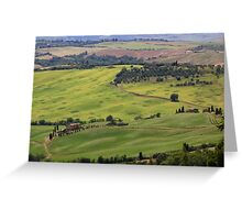 Tuscan View Greeting Card