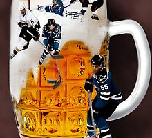 █ ♥ █ SPIRIT OF HOCKEY-BEER- HOCKEY PLAYERS CARD/PICTURE █ ♥ █  by ✿✿ Bonita ✿✿ ђєℓℓσ