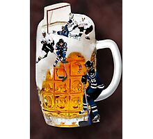 █ ♥ █ SPIRIT OF HOCKEY-BEER- HOCKEY PLAYERS CARD/PICTURE █ ♥ █  Photographic Print