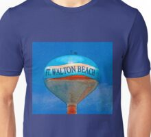 Beach ball water tower FWB Florida Unisex T-Shirt