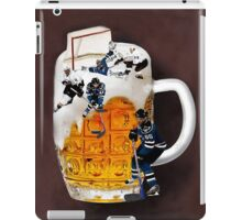 █ ♥ █ THE GOOD OLD HOCKEY GAME - BEER- HOCKEY PLAYERS FUN DECORATIVE PILLOW & TOTE BAG CHEERS HE SCORES █ ♥ █ iPad Case/Skin