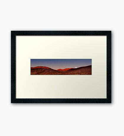 Sunrise Over Dante's View.  Framed Print