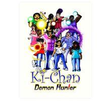 Ki-Chan: Full Cast Art Print