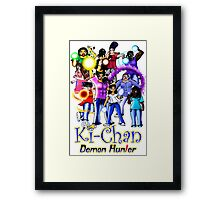 Ki-Chan: Full Cast Framed Print