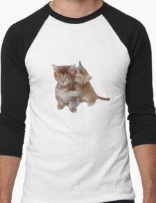 Love Kittens Men's Baseball ¾ T-Shirt