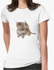 Love Kittens Womens Fitted T-Shirt