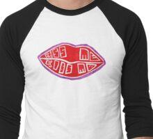Kiss Me Kiss Me - 5SOS  Men's Baseball ¾ T-Shirt