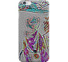 Femme Avec Chapeau iPhone Case/Skin