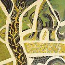 a piece of green fields by Soxy Fleming
