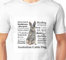 Cattle Dog Traits Unisex T-Shirt
