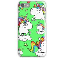 Rainbow Unicorns iPhone Case/Skin