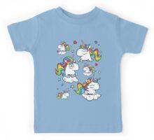 Rainbow Unicorns Kids Tee