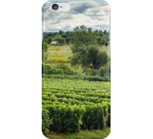 Afternoon in a Vineyard iPhone Case/Skin
