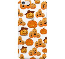HALLOWEEN JACK-O-LANTERNS iPhone Case/Skin