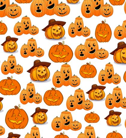 HALLOWEEN JACK-O-LANTERNS Sticker