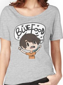 BLUE FOOD Women's Relaxed Fit T-Shirt