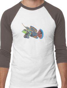Mandarin Fish Men's Baseball ¾ T-Shirt