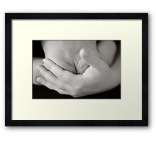 Young Wrinkles Framed Print