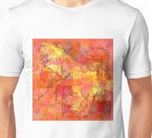 Abstract Shapes Over Daisies: Maps & Apps Series Unisex T-Shirt