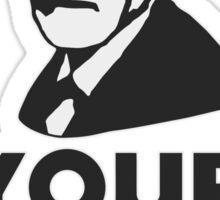 Sigmund Freud your mom Sticker