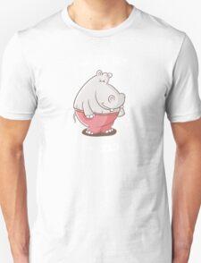 I am not fat, I am bold - Funny Hippo Shirt Unisex T-Shirt