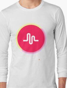 New Retro Musical.ly Logo Long Sleeve T-Shirt