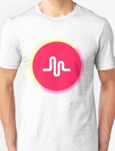 New Retro Musical.ly Logo Unisex T-Shirt