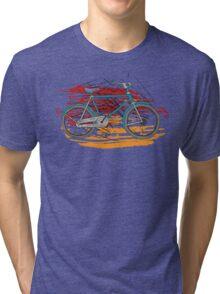 Bicycles - Rideable Art Tri-blend T-Shirt