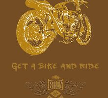 All brown get a bike and ride. by Doiron9