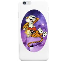 Calvin and Hobbes Laugh iPhone Case/Skin
