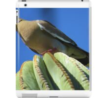 Dove on Cactus iPad Case/Skin