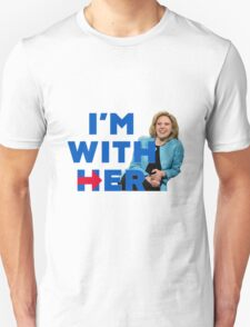 I'm With Her (Kate McKinnon)  Unisex T-Shirt