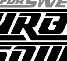 Need For Sweet Turbo Sound Sticker