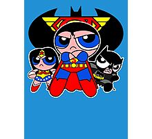 Super Trinity Puff Photographic Print