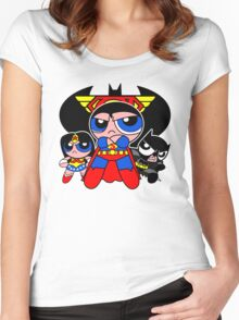 Super Trinity Puff Women's Fitted Scoop T-Shirt
