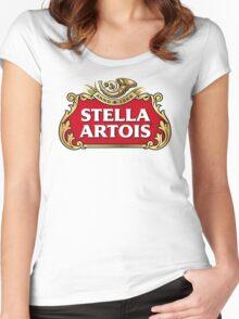 Stella Artois Women's Fitted Scoop T-Shirt