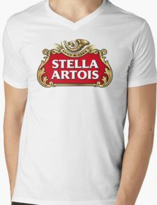Stella Artois Mens V-Neck T-Shirt